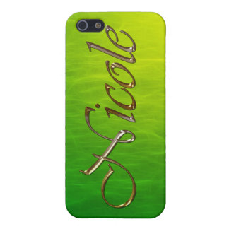 NICOLE Name Branded iPhone Cover iPhone 5/5S Case
