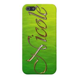 NICOLE Name Branded iPhone Cover iPhone 5 Case