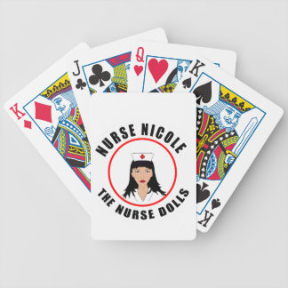 Nicole nurse bicycle playing cards