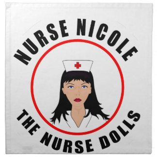 Nicole nurse napkin
