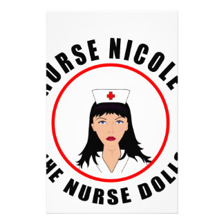 Nicole nurse stationery