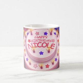 Nicole's Birthday Cake Coffee Mug