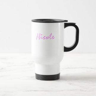 Nicole's travel mug