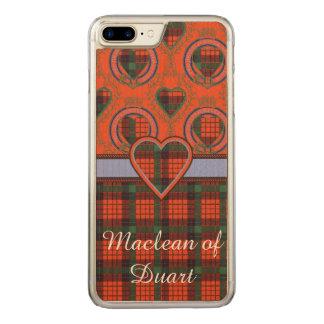 Nicolson clan Plaid Scottish tartan Carved iPhone 8 Plus/7 Plus Case