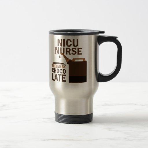 Nicu Nurse (Funny) Chocolate Mug