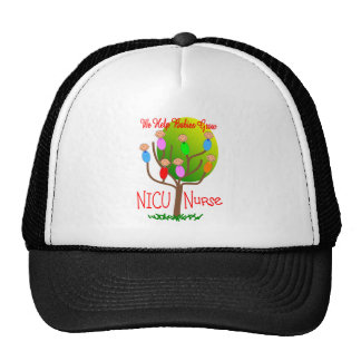 NICU Nurse Gifts, Adorable in a tree Trucker Hat