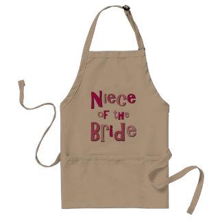 Niece of the Bride Standard Apron