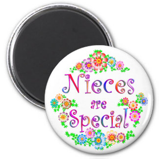 NIECES are Special 2 Inch Round Magnet