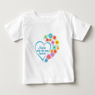Nieces Special Heart Baby T-Shirt