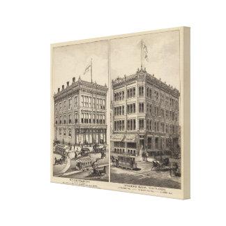 Niederlander and Citizens Bank, Wichita, Kansas Canvas Prints