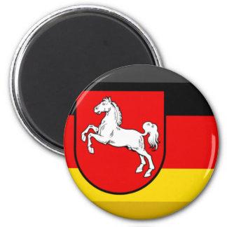 Niedersachsen Flag Gem Magnet