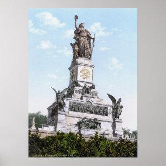 Niederwalddenkmal Poster