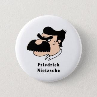 Nietzsche 2 Inch Round Button