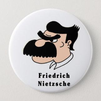 Nietzsche 4 Inch Round Button