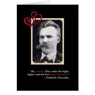 Nietzsche Anti-Valentine's Day Card #1
