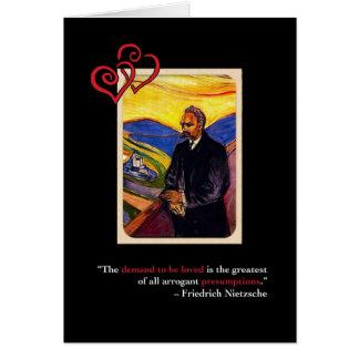 Nietzsche Anti-Valentine's Day Card #2