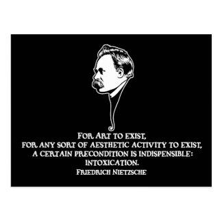 Nietzsche-art-1-DKT Postcard