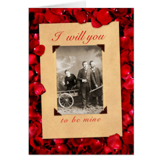 Nietzsche I Will You Valentine's Day Card