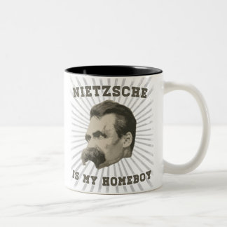 Nietzsche Is My Homeboy Mug