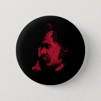 Nietzsche Philosophy Badge 2 Inch Round Button