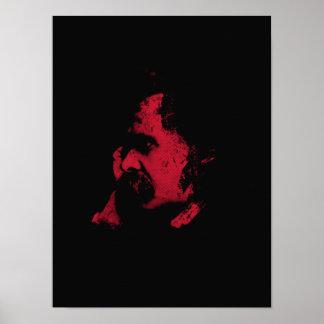Nietzsche Philosophy Poster