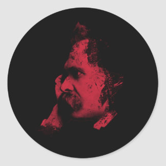 Nietzsche Philosophy Sticker
