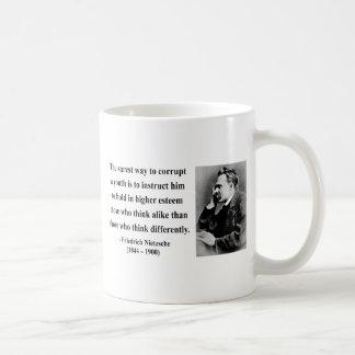 Nietzsche Quote 2b Coffee Mug