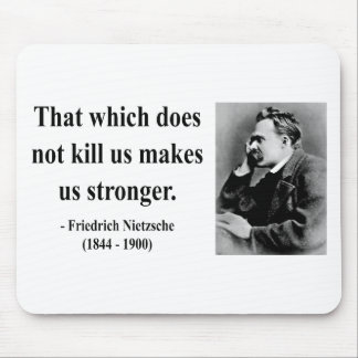 Nietzsche Quote 5b Mouse Pad