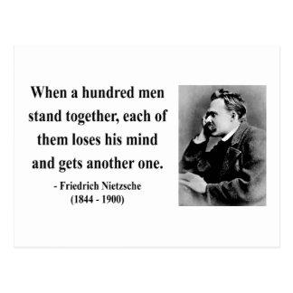 Nietzsche Quote 7b Postcard