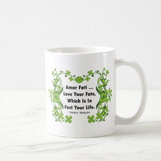 Nietzsche Quote Love Your Fate ... Coffee Mug
