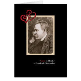 Nietzsche Sweet Valentine's Day Card #1