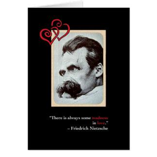 Nietzsche Sweet Valentine's Day Card #3
