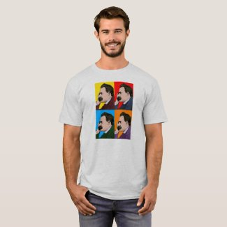 Nietzsche Pop-Art T-Shirt