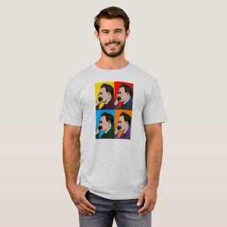 Nietzsche Pop-Art T-Shirt