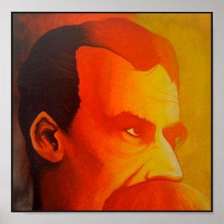 Nietzsche (Ubermensch) Poster