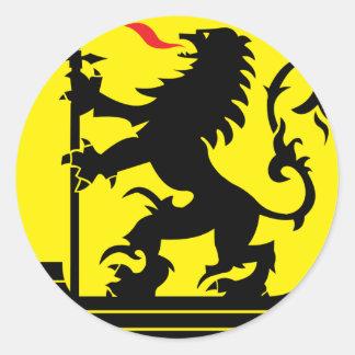 nieuwpoort, Belgium Classic Round Sticker