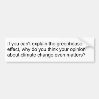 Niez le changement climatique ? Lisez un livre de  Autocollant De Voiture