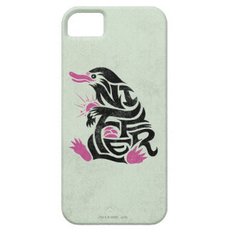 Niffler Typography Graphic iPhone 5 Cover
