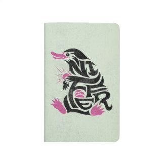 Niffler Typography Graphic Journal