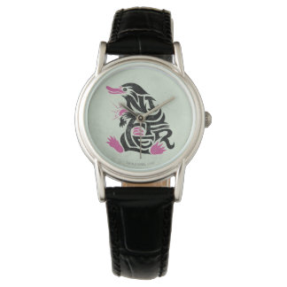 Niffler Typography Graphic Watch