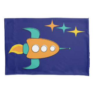 Nifty fifties - space age pillow covers