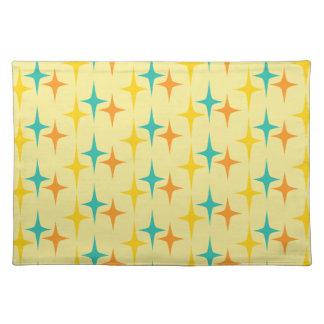 Nifty fifties - triple starburst placemat