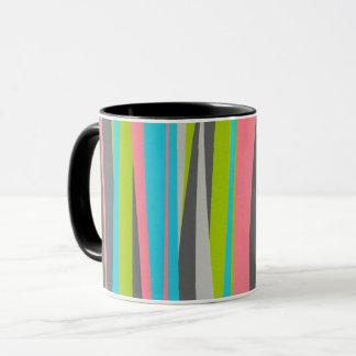Nifty Retro Stripes Mug