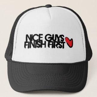 nifty trucker trucker hat