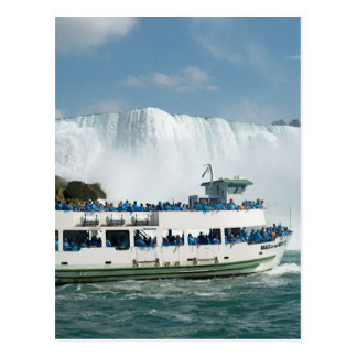 Nigara Falls Boat Sail Toronto CNTower CN Tower CA Postcard