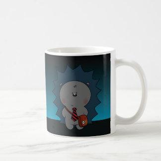 nigel le hérisson mug blanc