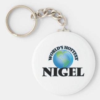 Nigel le plus chaud du monde porte-clé rond