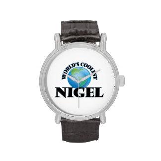 Nigel le plus frais du monde montres cadran