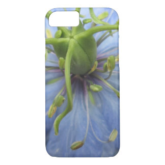 Nigella Blue Green Blooming Flower iPhone 7 Case