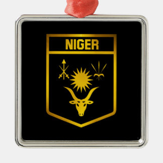 Niger Emblem Metal Ornament